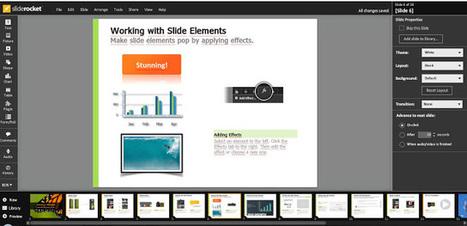 Slide Rocket, presentazioni professionali a costo zero | effective presentation | Scoop.it