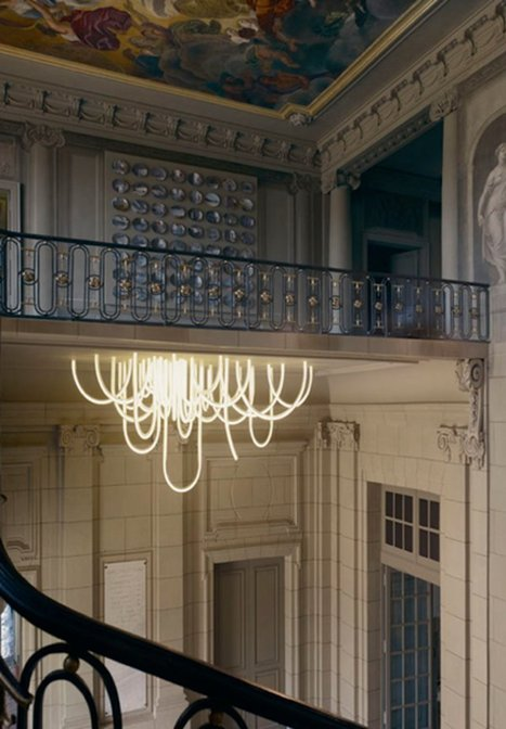 LED Chandelier | Art, Design & Technology | Scoop.it