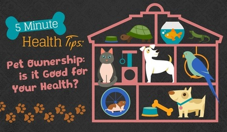 5 Minute Health Tips: Pet Ownership - Is it Good for Your Health? | Health Communication and Social Media | Scoop.it