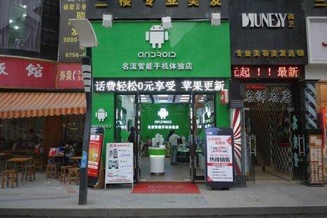 Chine : un magasin Android qui vend… des iPhones | Strange days indeed... | Scoop.it