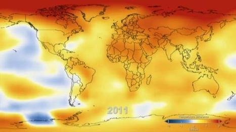 132 Years of Global Warming Visualized in 26 Dramatically Animated Seconds   Clean Power Plan and Climate Change--   Scoop.it