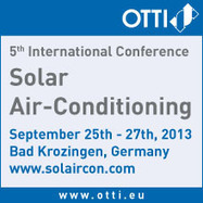 Solar Air Conditioning: A technological development opportunity in renewable energy (2010) | Solarthermalworld | Concentrating Solar Thermal | Scoop.it