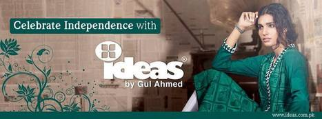Gul Ahmed Beautiful 14 August Independence Day Dresses 2014 for Girls | Fun TV Web | Scoop.it
