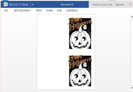 How To Create Printable Halloween Greeting Cards in Word | PowerPoint Presentation | PowerPoint Tips & Presentation Design | Scoop.it