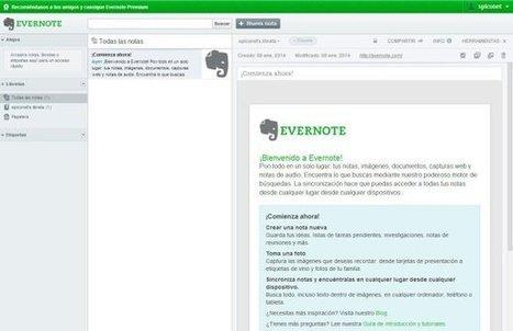 Evernote para Inexpertos - Tecnologia para inexpertos   Tools, Tech and education   Scoop.it