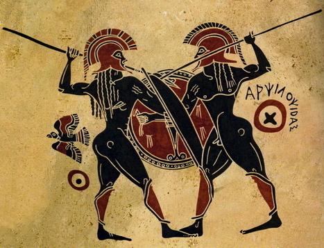 Vernato - hellasinhabitants: Conflict of Greek hoplites of... | Ancient Origins of Science | Scoop.it