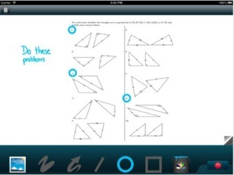 5 iPad Apps to Help Students and Teachers Collaborate | C21 teaching pedagogy | Scoop.it