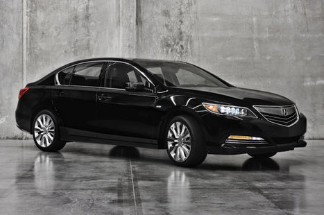 2014 Acura RLX gets trick hybrid all-wheel drive system for LA [w/video] | Business Solutions | Scoop.it