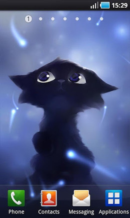 Yin The Black Cat Live Wallpaper FULL v1.0.2 AndroidCruze | gugu12 | Scoop.it