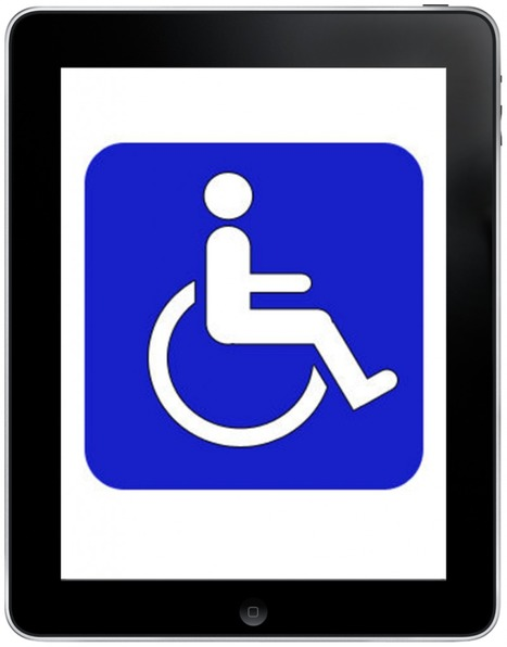 The iPad as a Disruptive Force in Assistive Technology — Michael ...   iTeach Special Education   Scoop.it