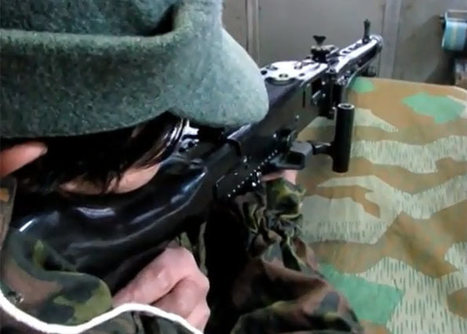 Shoei MG42 AEG Shake Device Model | Popular Airsoft | Airsoft Showoffs | Scoop.it