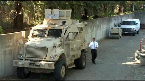 Davis City Council Tells Police To Have Plan For Getting Rid Of MRAP Military Vehicle In Next 60Days - CBS Sacramento | Criminal Justice in America | Scoop.it