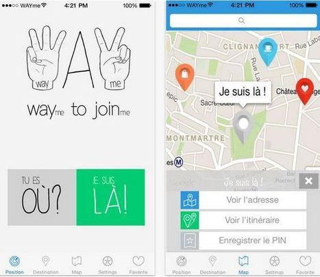 WAYme : l'application mobile de géolocalisation dont je rêvais - Applis By Tib   e-biz   Scoop.it