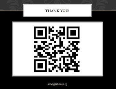 Share your Presentation Slides with a QR Code | Källkritk | Scoop.it