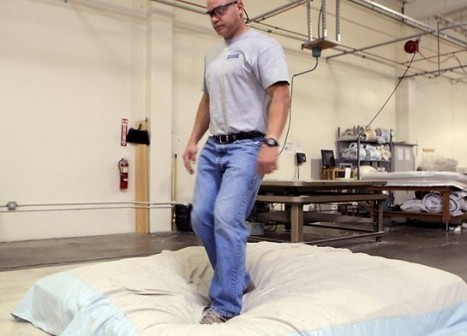 Professional Mattress Jumper Is an Actual Job | Strange days indeed... | Scoop.it