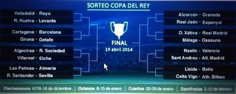 FUTBOL BASE: SORTEO OCTAVOS COPA DEL REY 2013/2014 (Cruces hasta la final) | Futbola | Scoop.it