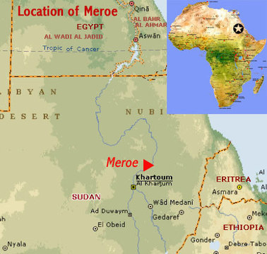 Archaeological Sites of the Island of Meroe (Sudan) | African World Heritage Sites | Nubia; daily life and cultural heritage | Scoop.it