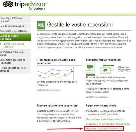 Recensioni-ritorsioni: come segnalarle a TripAdvisor | Tecnologie: Soluzioni ICT per il Turismo | Scoop.it
