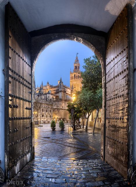 Giralda de Sevilla desde los Reales alcazares (Andalusia, Spain) | Mis imágenes | Scoop.it