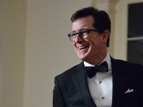 Satirist, Political comedian Stephen Colbert is replacing  Letterman on CBS's  late-night TV show: where real American power lies. A  perfect platform  to spread his satirical message.. | Interesting Reading to learn English -intermediate - advanced (B1, B2, C1,) | Scoop.it