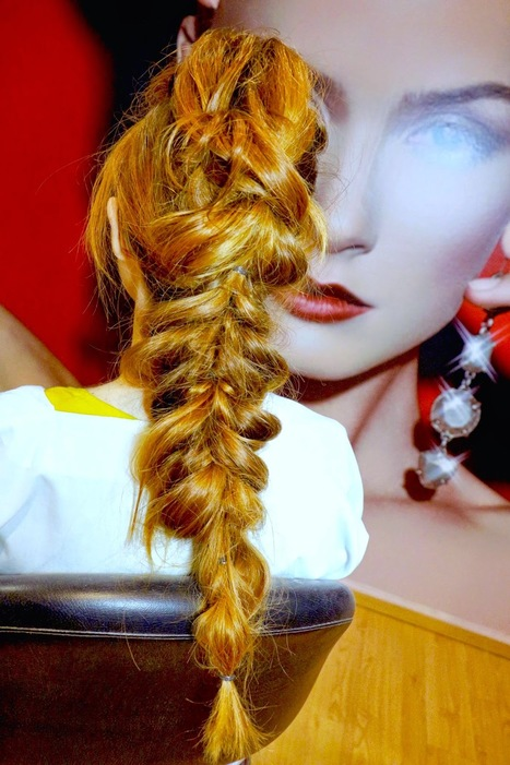 Mi Estilista & Yo: Como Hacer una trenza Mohicana - How to: Faux Mohawk Pull through Braid | Boris Soler | Scoop.it