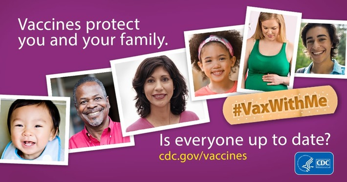 CDC's #VaxWithMe Social Media Campaign has been updated | Pharmaguy's Insights Into Drug Industry News | Scoop.it
