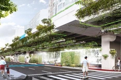 Viaduc du Minhocao : transformer un axe routier en voie végétalisée | Urbanisme | Scoop.it