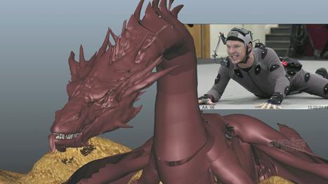 Benedict Cumberbatch Performs Mocap 'Smaug' in Making-Of Video (Exclusive) | 'The Hobbit' Film | Scoop.it
