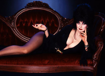 Zombie Logic: Poetry, Politics, Webcomics, Movies, Sports, Art, and Zombies: Elvira Mistress of the Dark Famous Wardrobe Malfunction | Elvira, Mistress of the Dark | Scoop.it