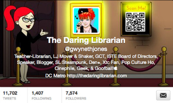 Getting a Head(er) with Twitter | The Daring Librarian | Skolbiblioteket och lärande | Scoop.it