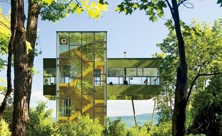 Tower House: Architecture that Camouflages into the Tree Canopy | 建築 | Scoop.it