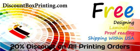 Discount Box Printing | Custom Boxes Manufacturers | Discount Box Printing | Scoop.it