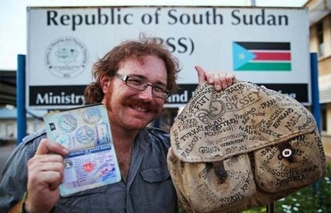 He Visited All 201 Countries In The World… WITHOUT Using A Plane. | World Peace | Scoop.it
