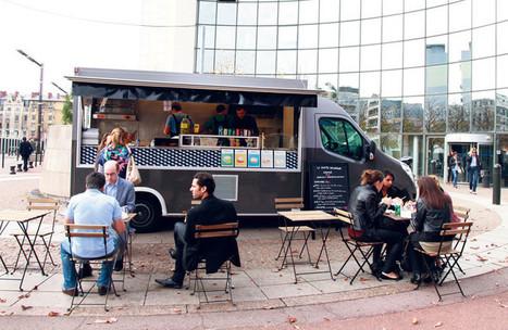 Les «food-trucks» parisiens, nouveaux créateurs d'espaces publics urbains | LA VILLE DANS TOUS SES ÉTATS | Scoop.it