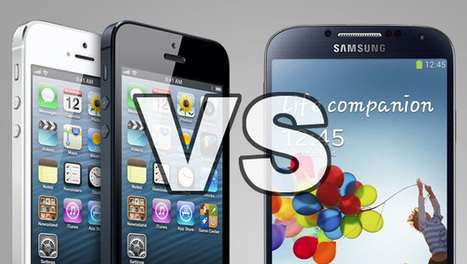Samsung Galaxy S4 vs iPhone 5   Marketing operations   Scoop.it