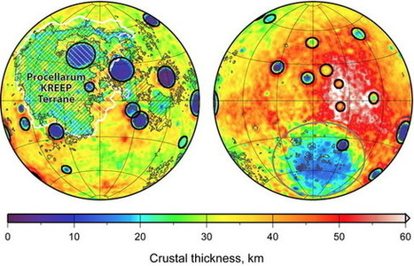 Surprise: Lunar Craters Are Bigger on the Near Side | Amazing Science | Scoop.it