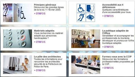Accessibilité aux personnes handicapées - Office de tourisme Paris | URBACCESS | Scoop.it