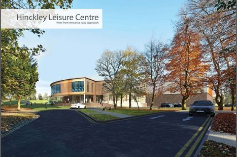 First glimpse of vision for new Hinckley Leisure Centre - Hinckley Times | Sports Management.4465530 | Scoop.it