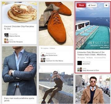 Pinterest lance les Promoted Pins, comment s'en servir ?   Marketing Entrant ou Inbound Marketing   Scoop.it