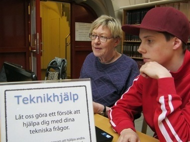 Gymnasielever erbjuder teknikhjälp | Digidel | IT-Lyftet & IT-Piloterna | Scoop.it