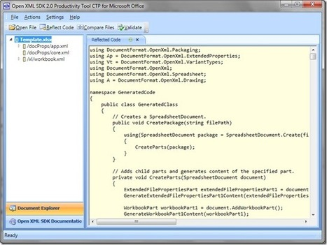 OpenXML SDK 2.0: Export a DataTable to Excel | .NET coding | Scoop.it