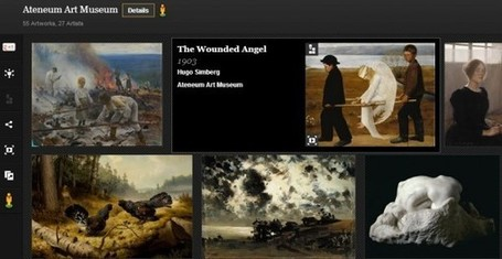 The Google Art Project añade 1.500 obras de arte en alta resolución | Vulbus Incognita Magazine | Scoop.it