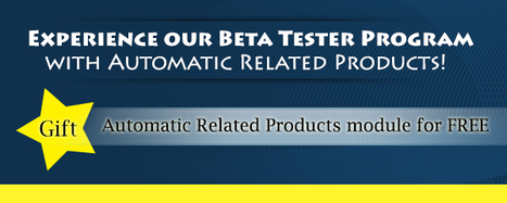 Explore Beta Tester Program to get Automatic Related Products for free | Magento extensions | Scoop.it
