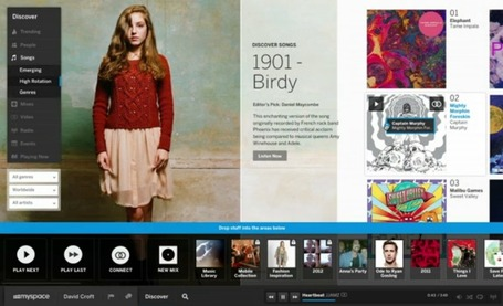 Myspace's new design actually has people excited | Surviving Social Chaos | Scoop.it