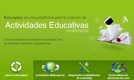 Portal de Actividades Educativas multimedia - Educaplay | Las TIC en el aula de ELE | Scoop.it
