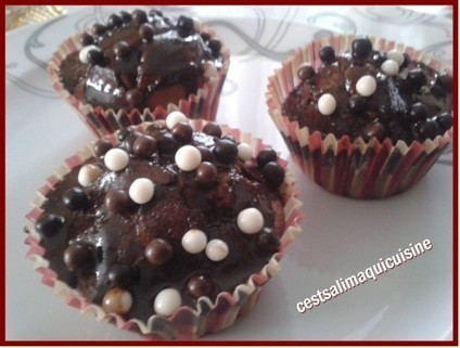 Cupcakes tout chocolat - Le blog de cestsalimaquicuisine | Cupcakes en France | Scoop.it