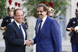 Hollande veut conforter les liens avec le Qatar | yvan.murphy | Scoop.it