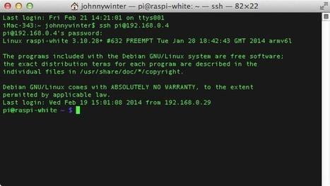 Using the Raspberry Pi Advanced Packaging Tool - Tuts+ Mac Computer Skills Tutorial | Arduino, Netduino, Rasperry Pi! | Scoop.it