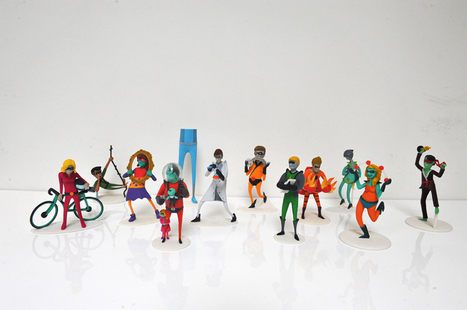 3D-Printed Superhero Figurine Business Cards | Big and Open Data, FabLab, Internet of things | Scoop.it