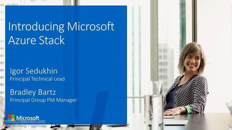 Microsoft Azure Stack Introduction, Electronics | wesrch | Scoop.it